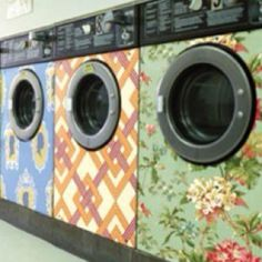washer and dryers with skins