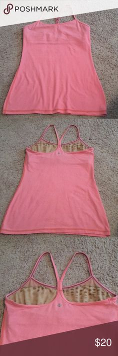 Lululemon peach tank size 8 Soft and very comfortable! lululemon athletica Other