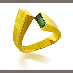 A tourmaline and gold watch, by Andrew Grima, circa 1969