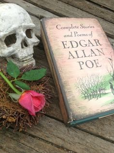 Vintage 1966 Edgar Allan Poe Complete Stories book by Oddacious