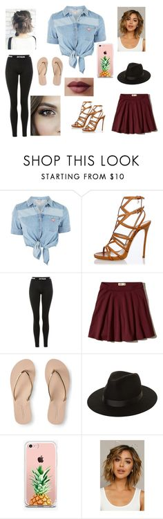 """""""Soul Fling"""" by bronwyn-stranger on Polyvore featuring GUESS, Dsquared2, Topshop, Hollister Co., Aéropostale, Lack of Color and The Casery"""