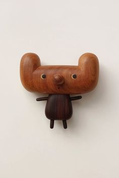 I haven't seen this many dawww-worthy designs in one place since friendswithyou's blindbox series. Yen Jui-Lin is an artist from Taiwan specializing in wooden sculptures, decor, and furniture. These adorable creatures demand attention due to their playful appearance and beautiful wood grain patterns.