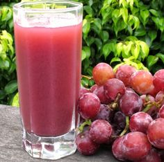 Varomeando: Zumo de frutas con uvas