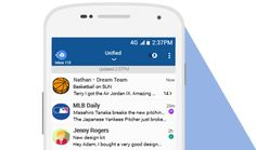 BlueMail is a modern, mobile first, powerful Email management tool with a sleek design, unified inbox and support for all your accounts: Best Email, Linux, Accounting, Android, Management, App, Business, Modern, Design