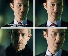 I seriously cant be the only one that gets all tingly when Mycroft says that? Ohh I am? Fine