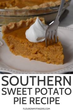 How to make southern sweet potato pie from Grandma's recipe box. Simple and easy, old-fashioned, family favorite Thanksgiving dessert from scratch. Homemade Sweet Potato Pie, Vegan Sweet Potato Pie, Sweet Potato Dessert, Sweet Potato Recipes, Southern Sweet Potato Pie, Black Folks Sweet Potato Pie Recipe, Old Fashion Sweet Potato Pie Recipe, Sweet Potato Pie Filling, Sweet Potato Pound Cake