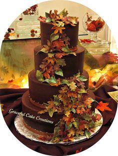 Torta de novios de chocolate