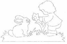 Вытинанки к Пасхе — весеннее настроение   Вытынанка