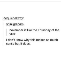 More like Tuesday I think because of the school year.