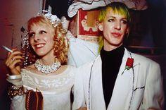Nan Goldin Greer' s and Paul' s wedding. New York, 1987, cibachrome
