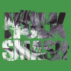 HuLk SmAsH T-Shirt & Hoodie and sticker for sale!!! #comic #avenger #film #character