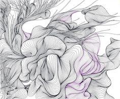 Enthusiastic Artist: Justine Ashbee's inspiring line art