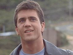 Young Mel Gibson from Mad Max......man, he was super cute :)