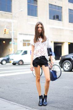 ストリートスナップニューヨーク - Carolina Thalerさん | Fashionsnap.com