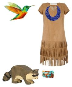 """""""Pocahontas"""" by smbee on Polyvore featuring Drome, NAKAMOL and Humble Chic"""