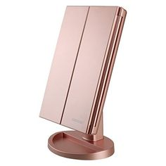 DeWEISN Tri-Fold Lighted Vanity Makeup Mirror with 21 LED... https://smile.amazon.com/dp/B06X9TMK83/ref=cm_sw_r_pi_dp_x_m4d0zb7RBVPZA