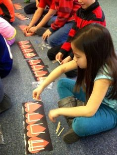 Kodaly Inspired Classroom: Monday Music Manipulatives. Great ideas for your music lessons!