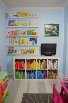 The O.C.D. Life: Friday Inspiration: Children's Book Storage!