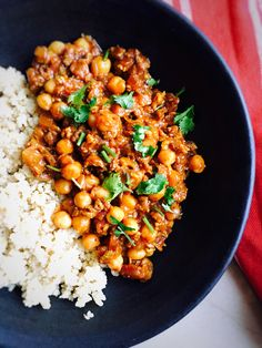 Minced meat with chickpeas