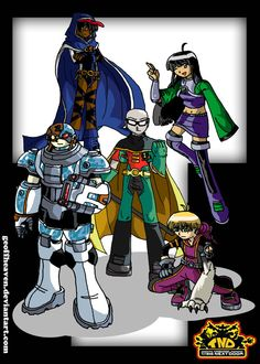 Codename: Titans Next Door. I combined the plot and characters of the two cartoon shows, Codename:Kids Next Door and Teen Titans Go! to form this art pi. Codename: Titans Next Door Cartoon Crossovers, Cartoon Tv, Cartoon Shows, Hug Gif, Best Crossover, Cartoon Network Shows, Randy Cunningham, Titans Anime, Beast Boy