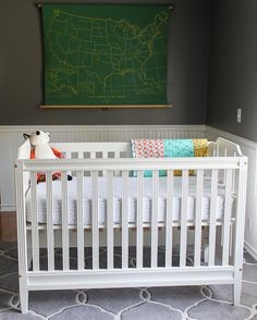 Heirloom crib that converts to a toddler bed and headboard for a full size bed. Handmade by McIntyre Furniture, LLC. 📷 and edits by . Nursery Room, Baby Room, Tire Furniture, Cots, Convertible Crib, Fine Woodworking, Baby Cribs, Toddler Bed, Skyline
