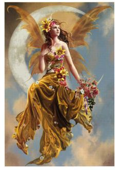 New-Earth-Moon-Nene-Thomas-Print-Fairy-Faerie-Flowers