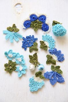 oya crochet motif Freeform Crochet, Crochet Motif, Diy Crochet, Crochet Crafts, Crochet Hooks, Crochet Patterns, Russian Crochet, Irish Crochet, Knitted Flowers