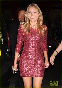 AnnaSophia Robb: CW Upfront After Party! I love this dress!.... PERFECTO para pieles blancas de coloración cálida, si eres de estación otoño o primavera, te quedará fabuloso!!  http://www.imagen-vipp.com/