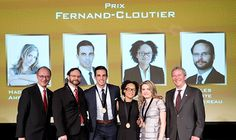A team of graduates from Concordia's John Molson School of Business was awarded the 2015 Fernand-Cloutier Award from the CPA Foundation, at the Quebec CPA Order's annual Ambassadors Gala on November