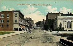 Bristol Connecticut CT 1908 Town Post Office East Main Street Vintage Postcard - Moodys Vintage Postcards - 1