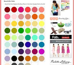 Search by Color http://www.theperfectpalette.com/p/colors.html