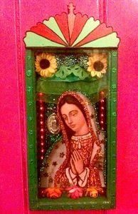 La Virgen de Guadalupe~nicho