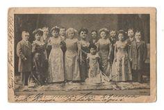 Cartão Postal Tipográfico: Lembrança da Companhia de Anões. Circulado em 1913. MBC.