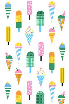 Summer Popsicle Wallpaper