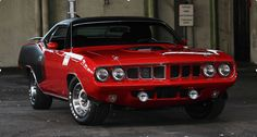 1971 Plymouth Cuda 383 V8 Restored to Perfection