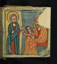 Illuminated Manuscript, Gondarine sensul, How Mary was pre… | Flickr
