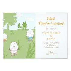 Easter Egg Hunt Invitations Easter Egg Hunt Invitation