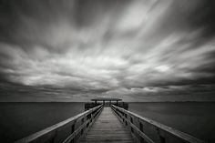 This was taken on a windy sunday afternoon on the Safety Harbor pier in FL. It's a 30 second long exposure which was taken with a Nikon Nikon and 2 B+W neutral density filters. Fishing Photography, Art Photography, Safety Harbor, Places In Florida, Clearwater Florida, Online Painting, Photo A Day, Great Photos, Beautiful World
