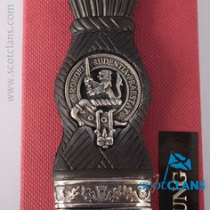 Young Clan Crest Sgian Dubh. Free worldwide shipping available.