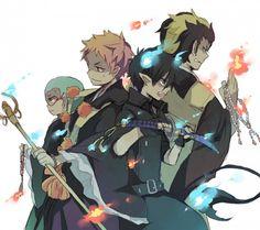 Konekamaru, Shima, Rin, Bon