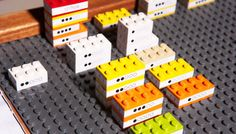 """Legos never lie."" Using legos as a tool. ""By mapping real world problems to an icon of our youth, each challenge must be approached with an inherent playfulness. And because Legos are, by their very nature, expected to be rebuilt, patterns don't appear stuck in stone--or just as bad--printed in ink..."""