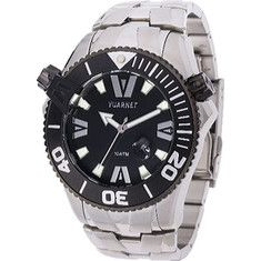 Vuarnet H2o Gent (Mens) - Stainless Steel Black title=