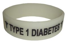 CoolMedID Cool Medical ID Wristbands and Dog Tags -glow-in-the-dark phat band $6.99