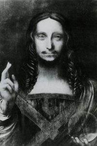 Lost Leonardo !!  It belonged to Charles I and Charles II of England, having been sold to the rest from the collection of the latter. Disappeared until the nineteenth century, when it appears in the collection of Sir Francis Cook, the first Viscount of Monserrate and who built the Palace of the same name in Sintra.