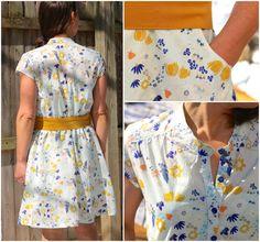 marigold dress details