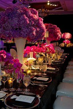 Table de mariage.