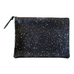 Clutch Black White Galaxy by Falconwright