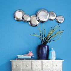 EVROS metal mirror H 40cm