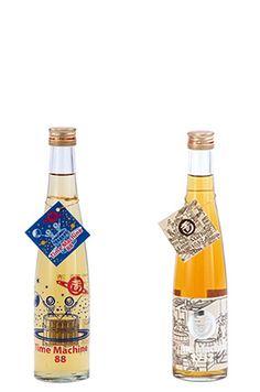 江戸時代の精米技術と酒造技術で造った酒。精米歩合88%純米酒超甘口。360ml/1049円 玉川 Time Machine 1712/88