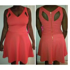 """NWT Betsey Johnson Dress New never worn. Material is textured. Fitted at bust with cutouts. Bottom flares out.  37.5"""" long Polyester/spandex Betsey Johnson Dresses"""